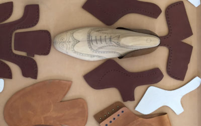 Pieza del mes (Mayo 2.019): Las partes de un zapato Goodyear