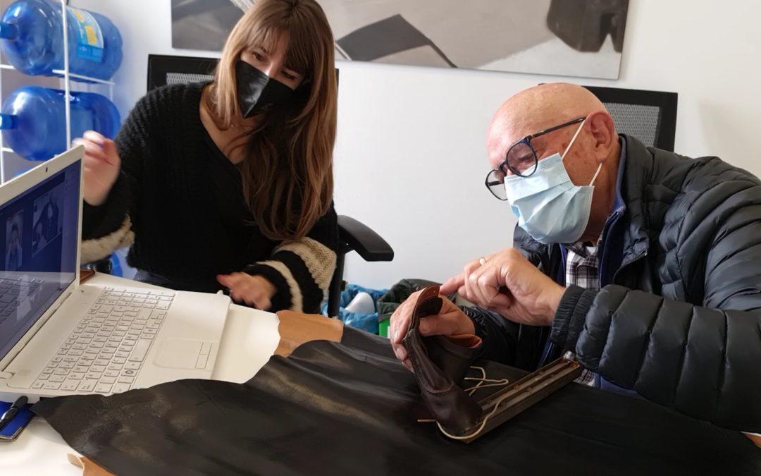 El Museo del Calzado y la Industria promueve la integración entre jóvenes y adultos mayores, a través de un oficio centenario